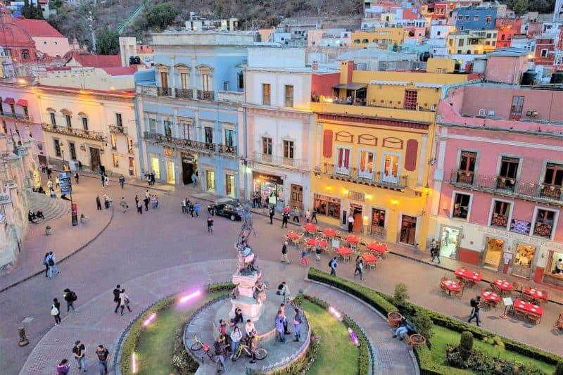 Guanajuato Mexico main square