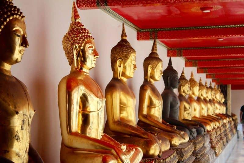 Bangkok Buddha statues