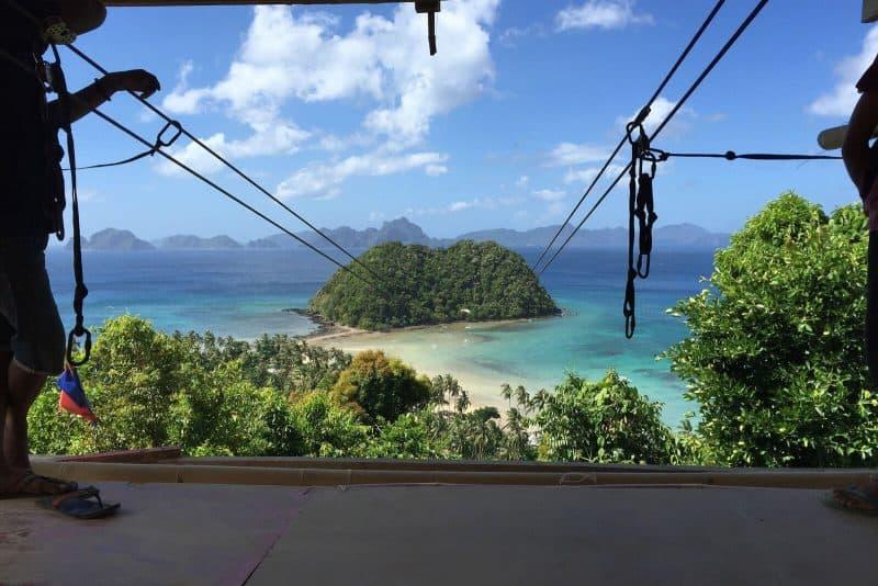 El Nido island Hopping Zip Line tour