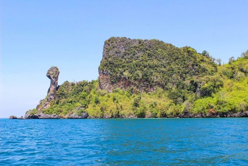 Krabi Poda island hopping