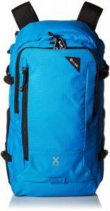 Pacsafe bag blue
