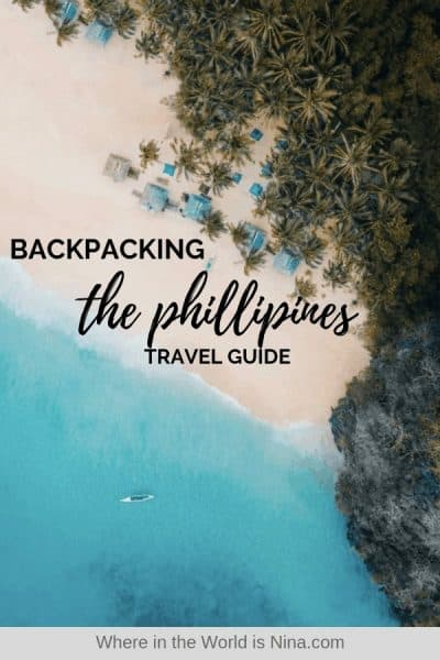 A Guide to Backpacking the Philippines: Itinerary, Costs, Tips + More