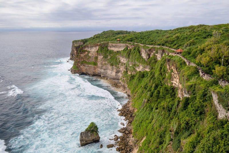 Bali Indonesia cliffs