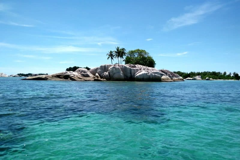 Belitung island east Sumatra Indonesia