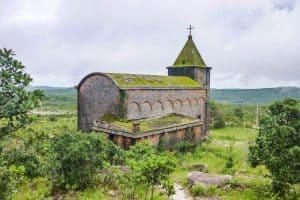 Bokor hill church Cambodia