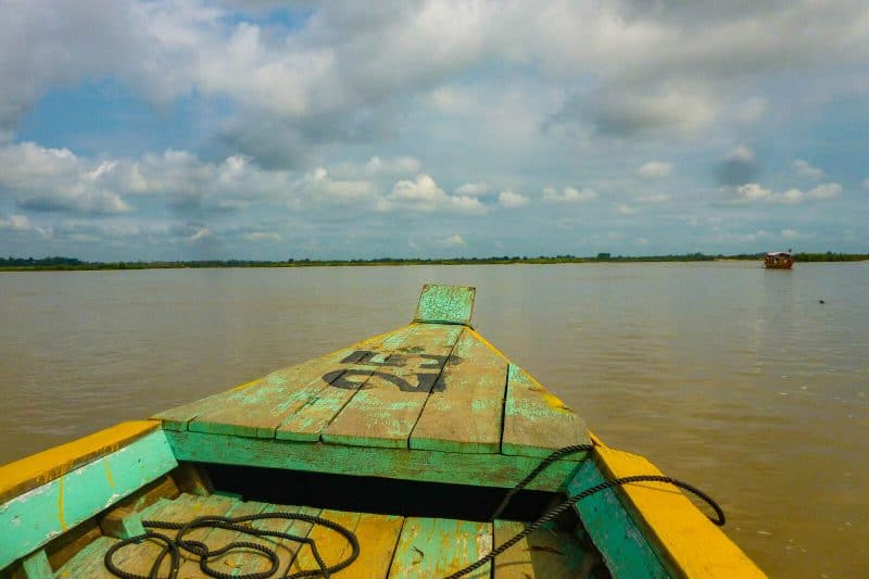 Kratie Boat Cambodia