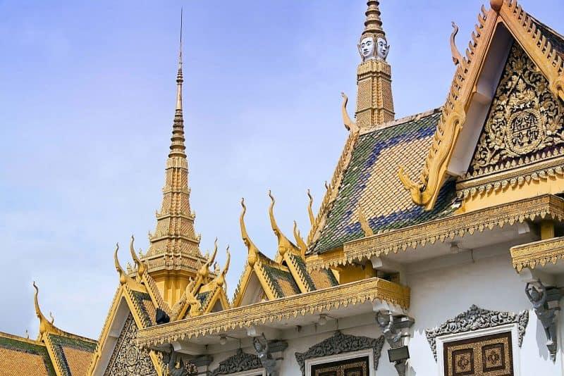 royal palace Pnom Phen Cambodia