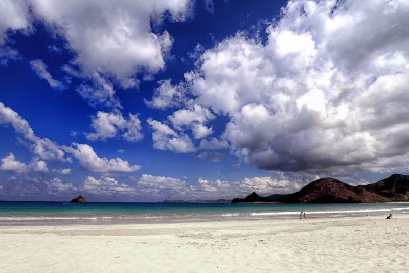 Selong Belanak beach Indonesia