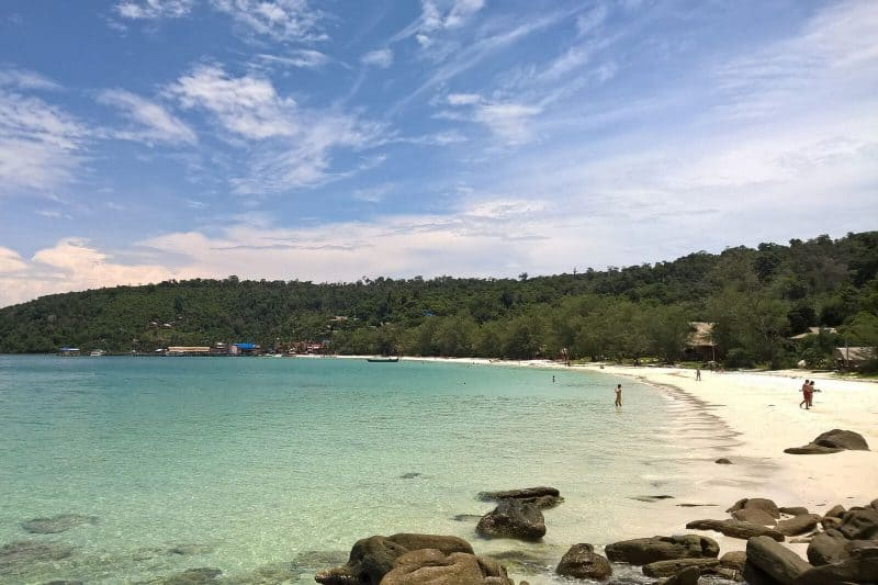 Sihanouk ville beach Cambodia