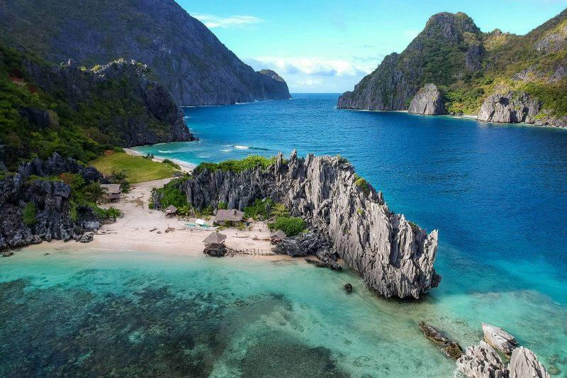 Star beach El Nido Philippines