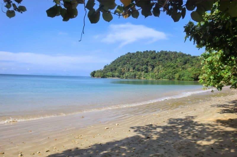 Koh jum beach thailand
