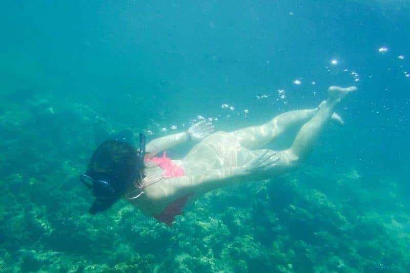 Koh Pak Bia beach Krabi Thailand snorkeling