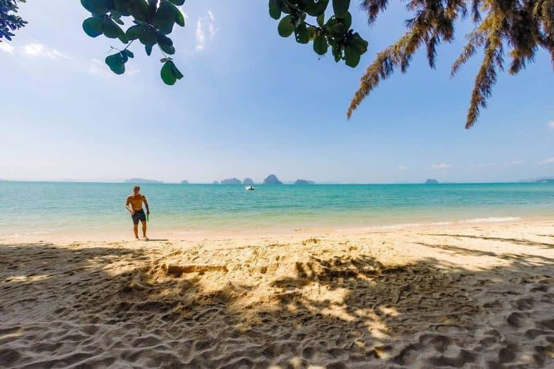 tubkeak beach krabi thailand