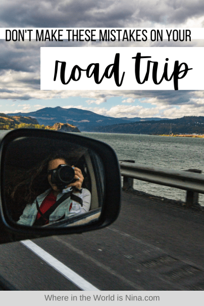 Don't Make These Mistakes on your Road Trip