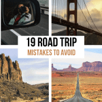 19 Road Trip Mistakes to Avoid