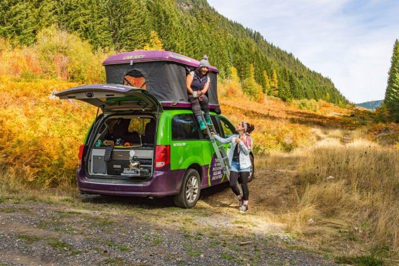 JUCY popup campervan