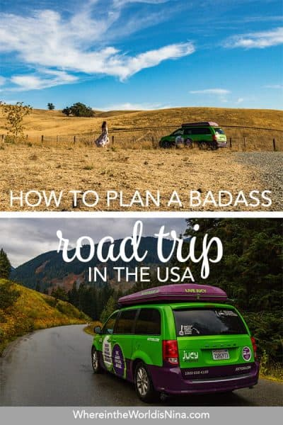 How to Plan a USA Road Trip & Choosing a Vehicle