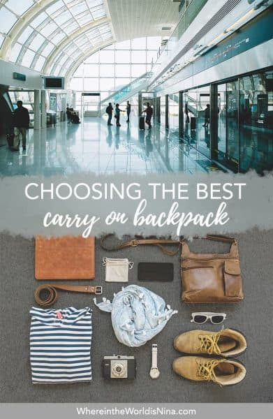The Best 11 Carry on Backpacks For Every Traveler