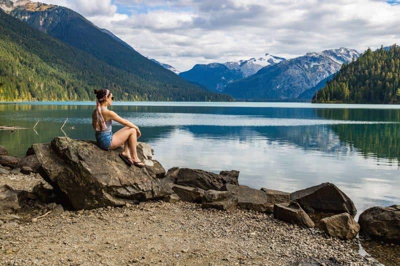 Cheakamus lake Vancouver