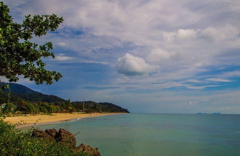 Klong nin beach on koh lanta krabi thailand