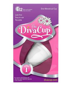 menstrual cup - travel accessory