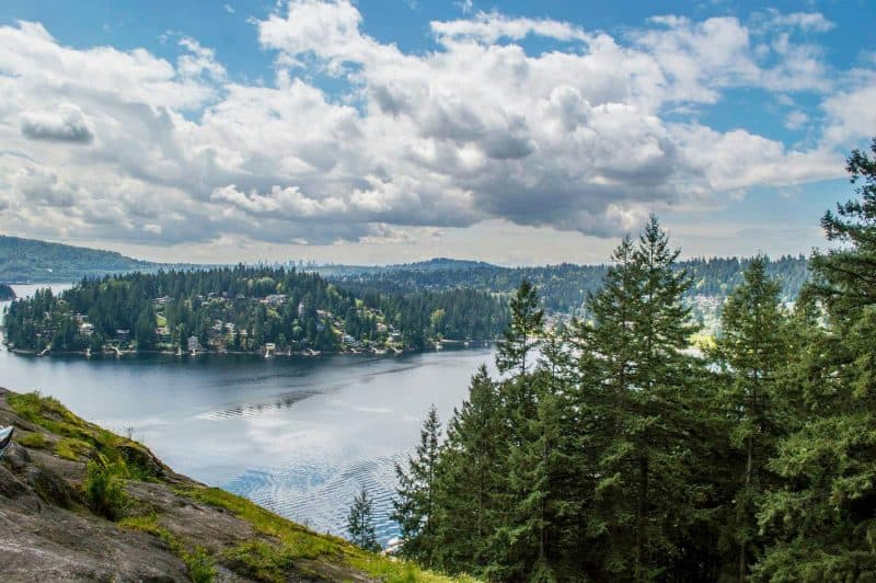 Quarry Rock Vancouver hikes
