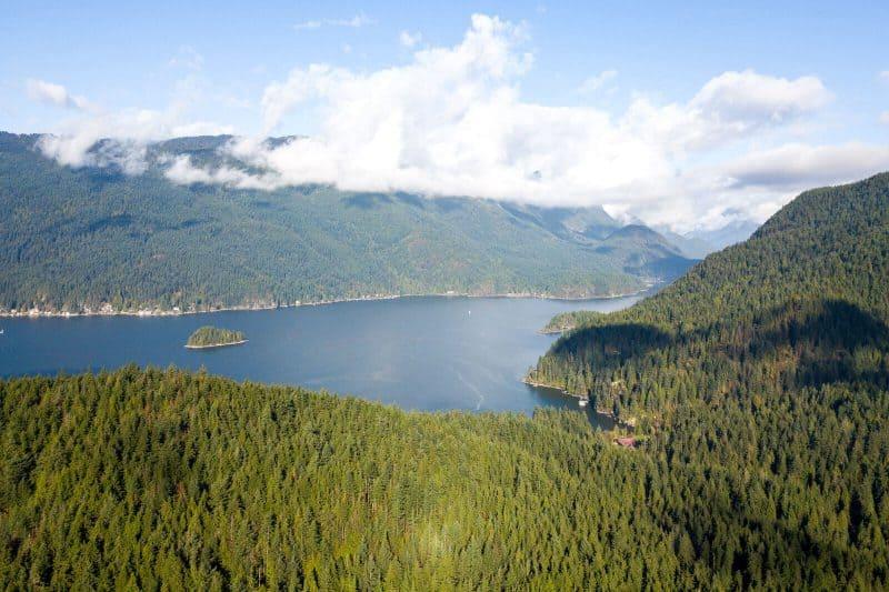 sasamat lake canada