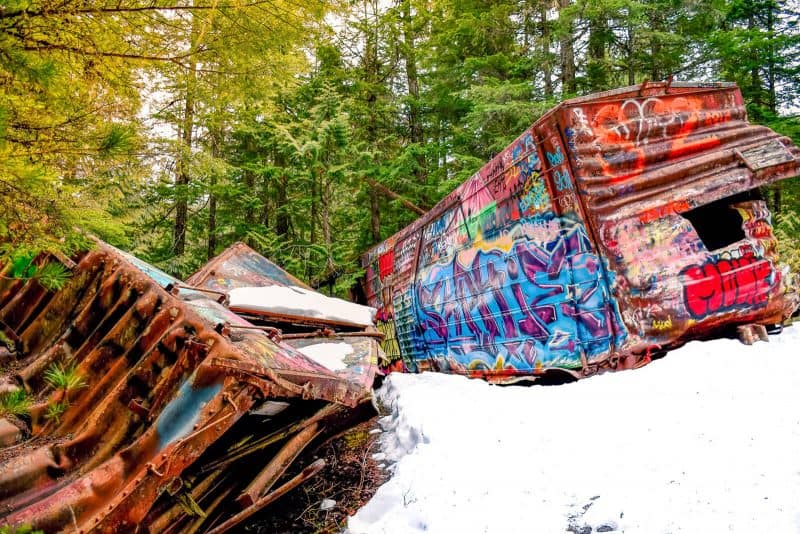 whistler train wreck