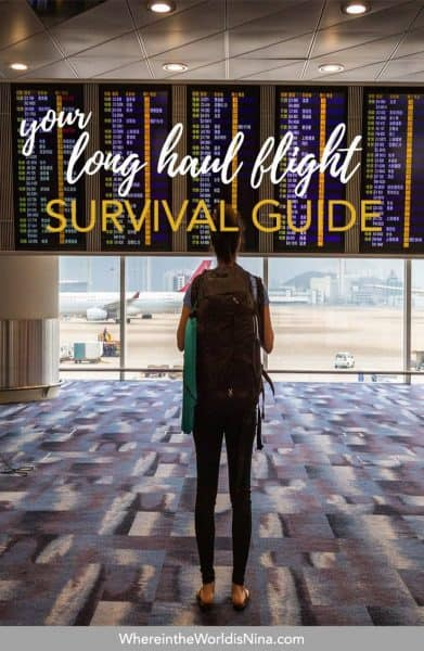 Long Haul Flight Tips and Essentials for Surviving Economy (AKA Hell)
