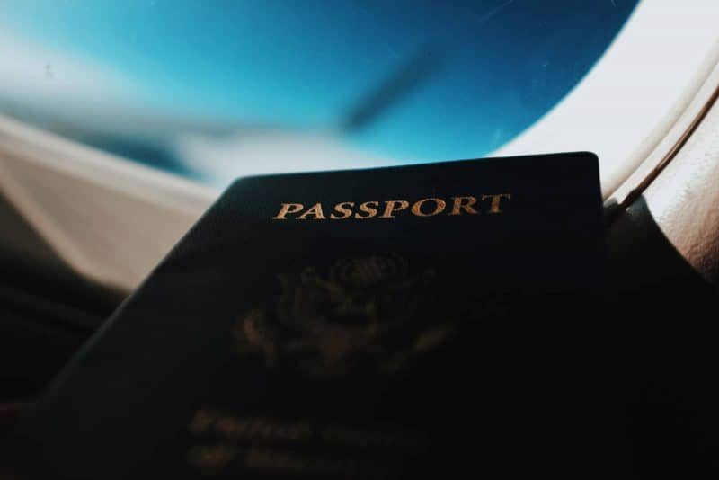 Another travel safety tip is to always keep your passport safe.