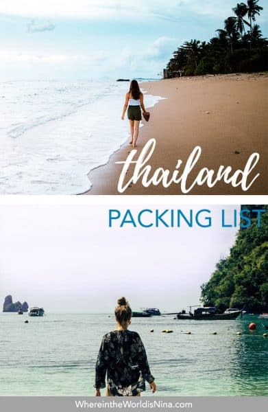 What to Pack for Thailand and What to Wear/NOT Wear