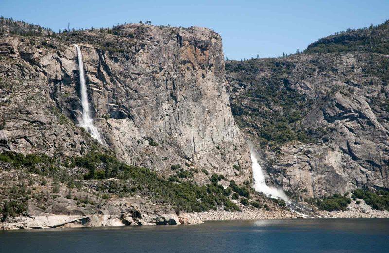 Wapama Falls Yosemite Park
