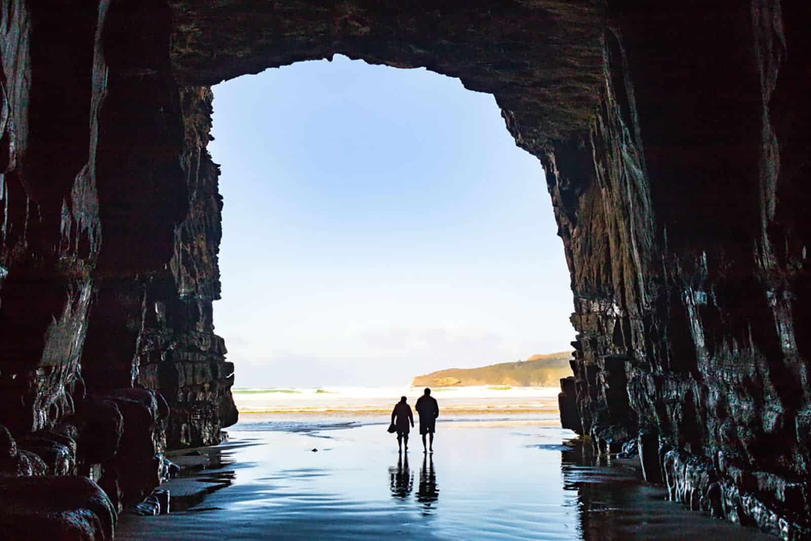 Cathedral Cave is another stunning place to visit in South Island.