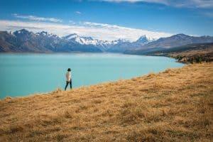 View from Lake Pukaki