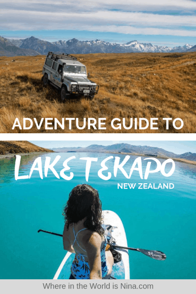 An Adventurer's Guide to Exploring Lake Tekapo