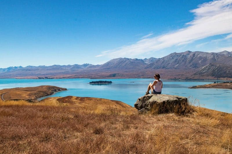 Mount John Trail Lake Tekapo