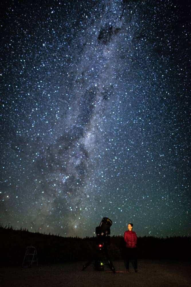 Stargazing the Milky Way in Tekapo