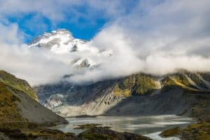 mount cook hike hooker valley hike view
