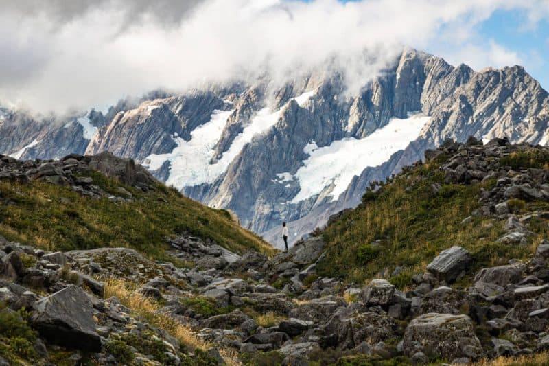 Mount Cook hike Kea Point