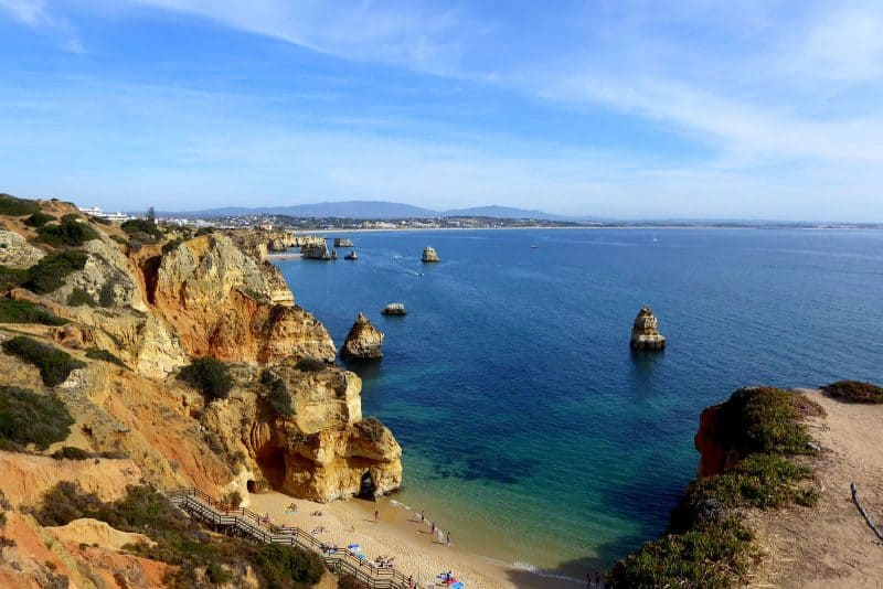 Beach in Lagos, Algarve