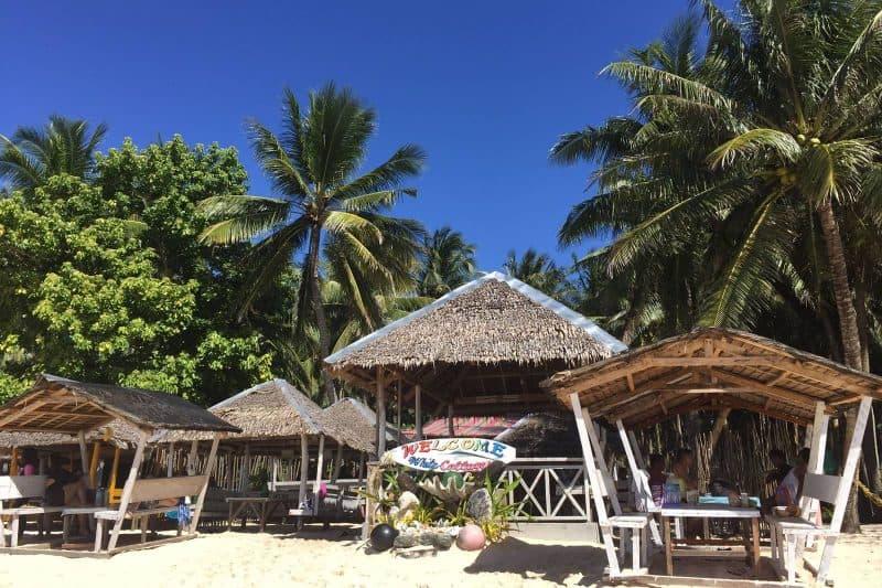 Beach Daku island