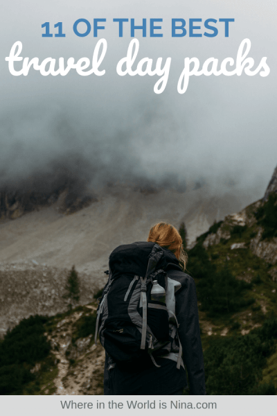 10 of Best Travel Daypacks—DON'T Just Choose Any Old Bag!