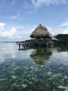 Boathouse in Bocas del Toro Panama