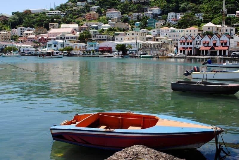 Caribbean island Grenada