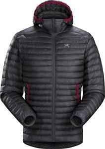 ARC'TERYX Cerium LT Hoodie travel jacket for hikers