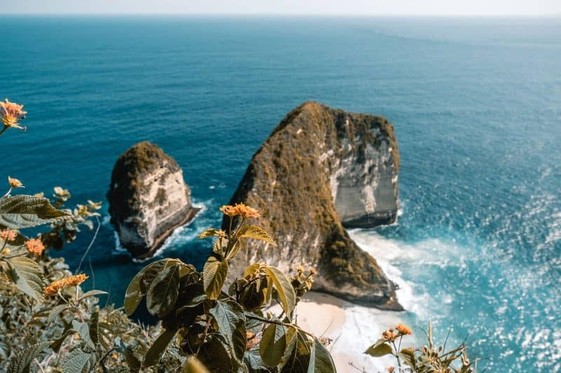 Kelingking beach Nusa Penida indonesia