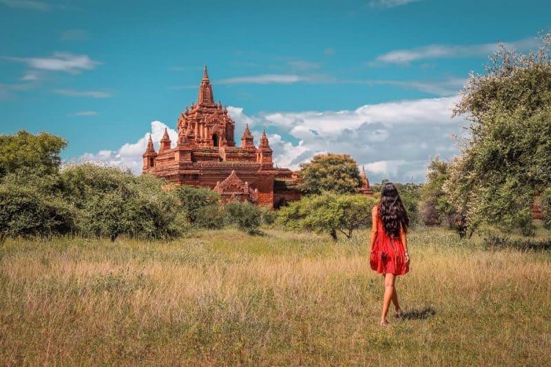 Kya Zin Hpaya temple Bagan Myanmar