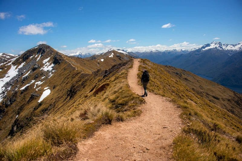 Mount Luxmore Ridgeline
