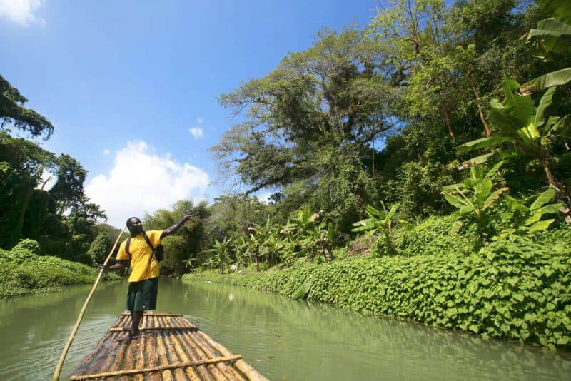 Rafting Martha Brae Montego Bay
