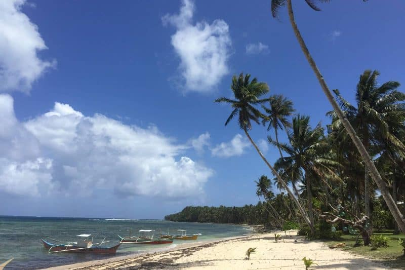 See coast Daku island Philippines